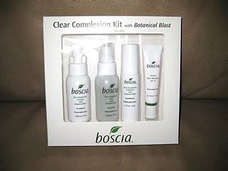 Review Boscia by Babble Review Boscia Skin Care Clear Complexion Kit
