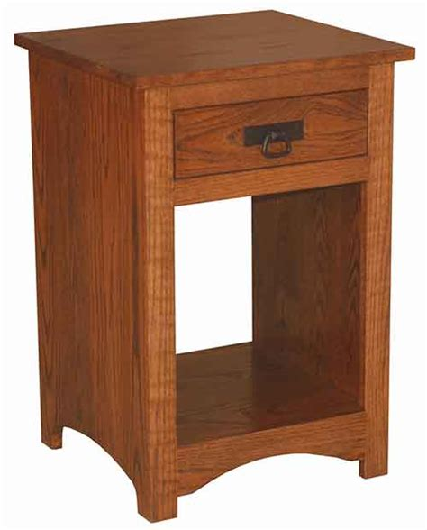 Horizon Shaker Nightstand Amish Crafted - the woodloft amish custom stands and bedside chests