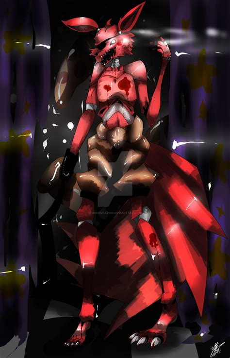 foxy five nights at freddys five nights at freddy s foxy the pirate by monsuta2000