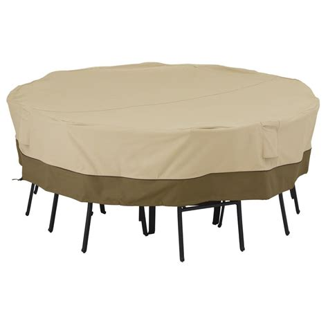 Patio Table Covers Square Classic Accessories Veranda Medium Large Square Patio Table And Chair Set Cover 55 701 011501 00