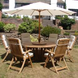 Teak Garden Furniture Set Kensington Teak Garden Furniture Set 6 Recliner Seats