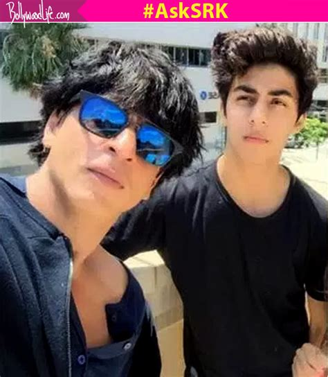 Shahrukh Khan Son Aryan Picture And Images