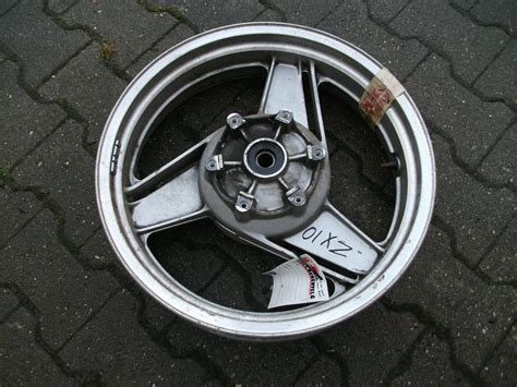 Honda Motorrad Hsn Tsn by Kawasaki Zx 10 Alufelge Hinten Nr 1198 C 4
