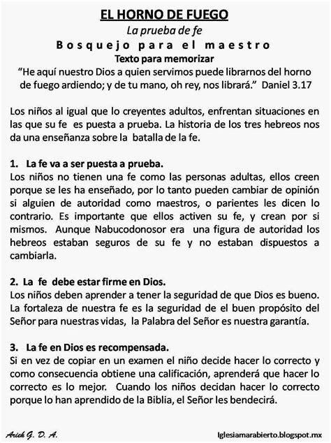 predicaciones para ninos cristianos iglesia mar abierto clase para ni 241 os cristianos el horno