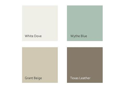 benjamin s white dove wythe blue grant beige leather decorating ideas