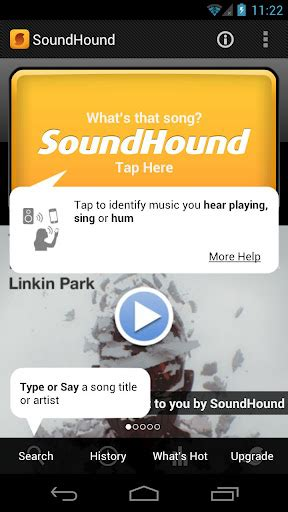 soundhound android android apps soundhound 哼哼歌曲就可以辨認囉 techorz 囧科技