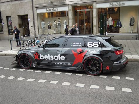 Audi RS6 DTM Free skier Jon Olsson's famous RS6 DTM. In a Flickr