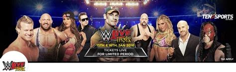 bookmyshow delhi wwe watch wwe live in india book tickets for wwe live in