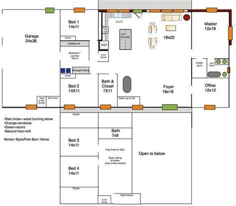 17 best morton home buildings floor plans images on pinterest 17 best images about morton home buildings floor plans on