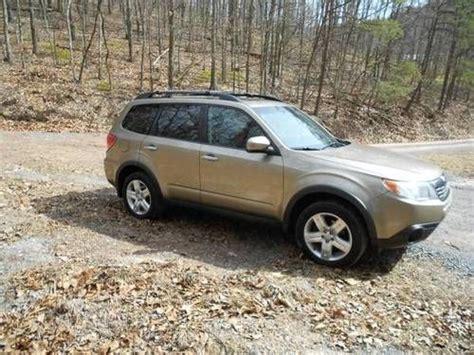 Used Subaru Morgantown Wv Sell Used 2009 Subaru Forester X Premium Wagon 4 Door 2 5l