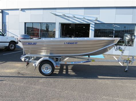 punt tinny boat for sale new sea jay 3 7 nomad quot high side quot trailer boats boats