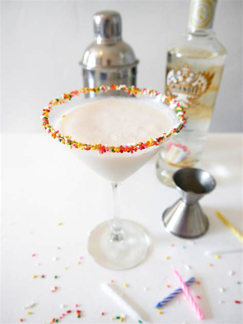 birthday martini birthday cake martini