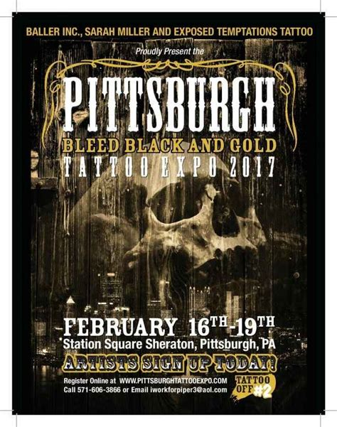 tattoo expo pittsburgh pittsburgh bleed back and gold tattoo expo