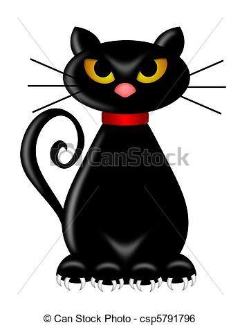 imagenes blanco y negro de halloween stock de ilustracion de halloween negro gato sentado