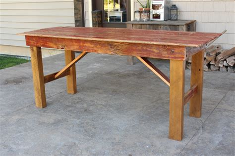 Barn Door Dining Table Quot Quot Barn Door Dining Table M Jones Creations