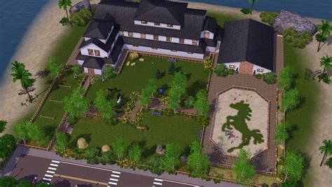 Farm House Floor Plans let s speed build legacy stables sims 3 youtube
