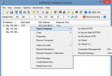 network scan free network scanner tool for windows 10