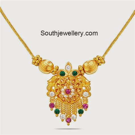 light weight gold necklace jewellery designs