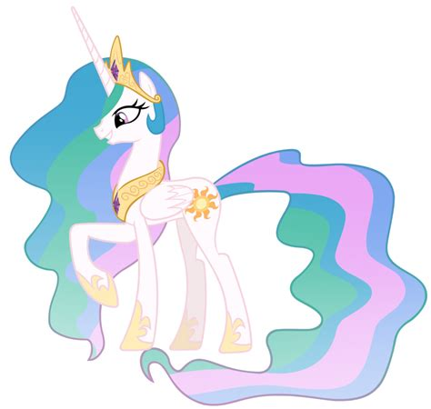my little pony princess celestia princess celestia vector by misterlolrus deviantart com on