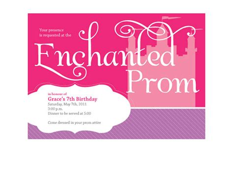 cute prom invitation ideas buckets of grace january 2011
