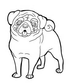 Printable pug coloring pages coloring pages amp pictures imagixs