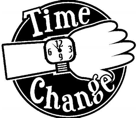 Of Time And Change daylight savings time 2016 clipart clipground