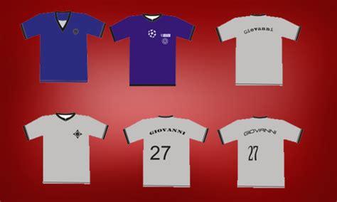 Tshirt Futsal Distro template desain kaos team futsal e commerce gadgets