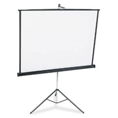 Tripod Screen 70 quartet portable tripod projection screen 70 quot x 70 quot allsold ca buy sell used office