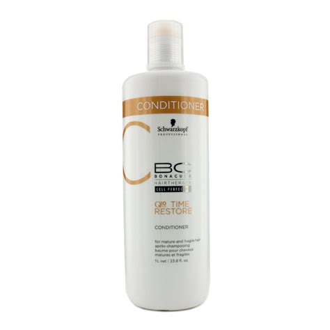 Q10 Bonacure Hair Therapy bc time restore q10 plus conditioner for and fragile hair schwarzkopf f c co usa