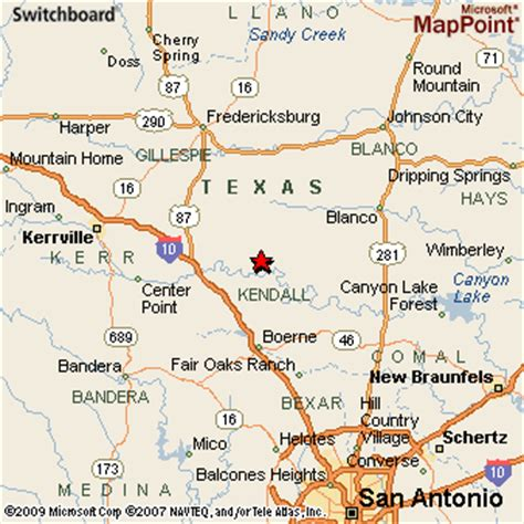 dale texas map sisterdale texas