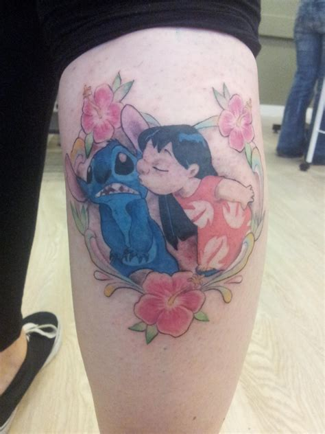 lilo and stitch tattoo sweet lilo and stitch tattoomagz