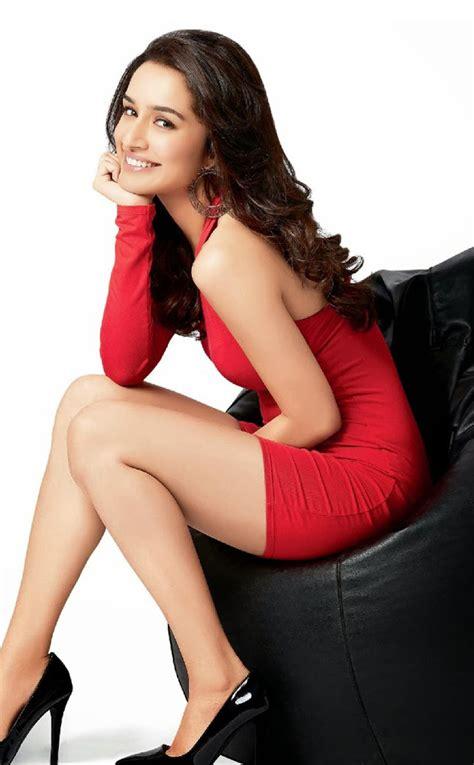 shraddha kapoor  red dress full hd wallpaper