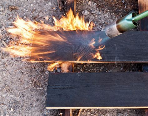 Burning Wood Siding To Preserve - why charred wood is great green choice