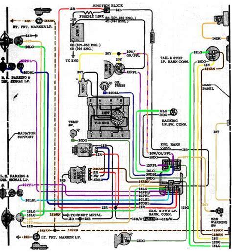 wiring diagram 1972 chevy truck wiring diagram sle