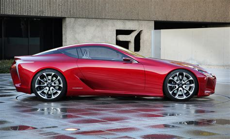 lexus luxury sports lexus reveals lf lc hybrid coupe concept