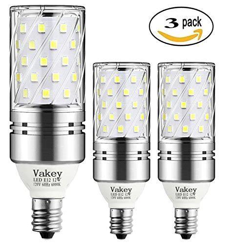 Vakey E12 Led Bulbs 12w Led Candelabra Light Bulbs 100 100 Watt Led Light Bulb Equivalent