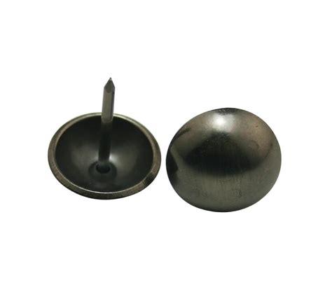 Tg117 Metal 15 Mm 50 pcs lot 15 mm diameter 15 mm pin level length metal black nickel hardware clavos decorative