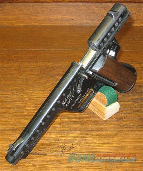 Mba Gyrojet Pistol For Sale by Scarce Mbassociates Mark1 Model B Gyrojet Semi For Sale