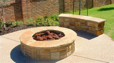 gas pit rocks fireplace design ideas