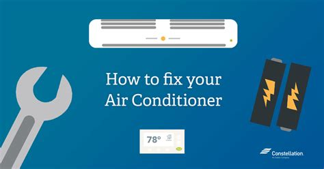 How Can I Patch A In An Air Mattress how to fix an air conditioner constellation