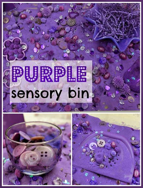 rubberboots and elf shoes rubberboots and elf shoes purple sensory bin sensory