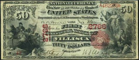 50dollar sew in new orleans louisiana old money from the louisiana national bank of new orleans