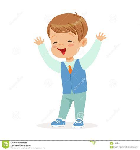imagenes animadas de un niño ni 241 o peque 241 o sonriente feliz en el ejemplo colorido del