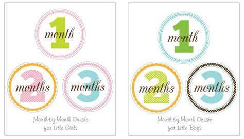 9 Best Images Of Free Printable Baby Monthly Signs Free Printable Baby Month Signs Free Monthly Baby Photo Template
