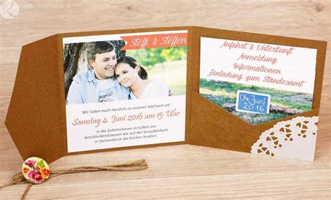Einladung Einsteckkarte by Kreativ Oder Primitiv Einladungskarten Zur Hochzeit