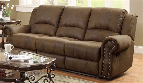 Coaster Reclining Sofa Sir Rawlinson Brown Reclining Sofa From Coaster 650151 Coleman Furniture