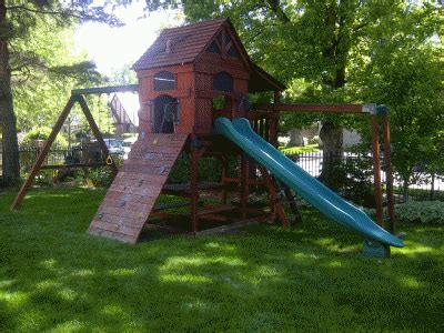 rainbow swing set stain denverfixit com swing set play set installations