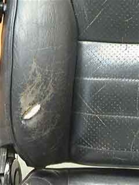 how to fix a hole in a leather couch how to fix a hole in a leather car seat