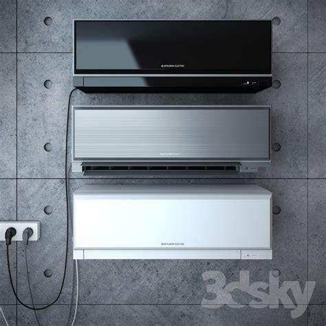 mitsubishi air conditioner models 3d models household appliance conditioner mitsubishi