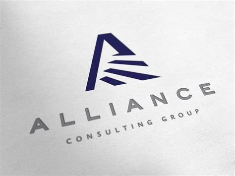 design a group logo alliance consulting group logo design redgizmo digital